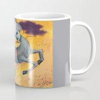 capricorn Mugs featuring Capricorn by Artist Andrea