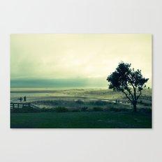 First Surf Canvas Print