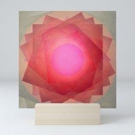Floral sensations 4 Mini Art Print