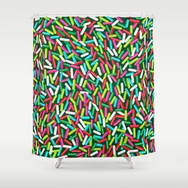 Encrusted With Sprinkles (Holiday Edition) Shower Curtain