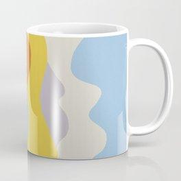 Over The Sunset Mountains Coffee Mug