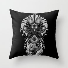 Trimurti Throw Pillow
