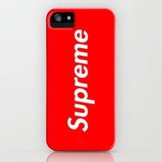 Supreme Slim Case iPhone SE