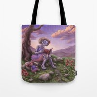 fancy Tote Bags featuring Fancy by Benjamin Clair