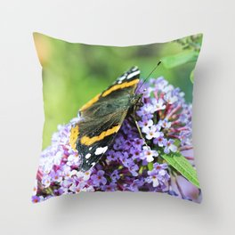 Butterfly VI Throw Pillow
