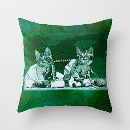 CatCurios 06E Throw Pillow