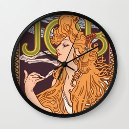 JOB rolling papers Wall Clock