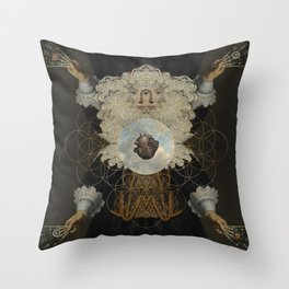 Astharte-Isis Throw Pillow