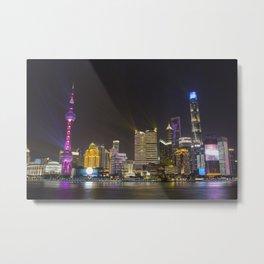 The Bund Shanghai Metal Print