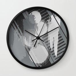 Caviar Circles Wall Clock