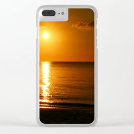 Days End Clear iPhone Case