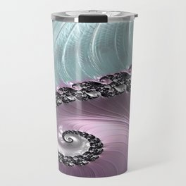 Pink Swirl Travel Mug