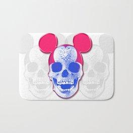 Mickey Mouse Skullface (aka Norman Bates' Dad) Bath Mat