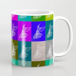 Rainbow Hummingbirds Coffee Mug