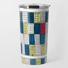 New York Streetscape Travel Mug