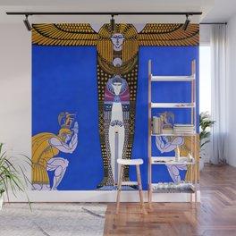 "Art Deco Orientalism ""Cleopatra"" Design Wall Mural"