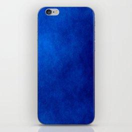 Misty Deep Blue iPhone Skin