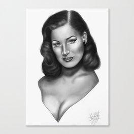 Teese  Canvas Print