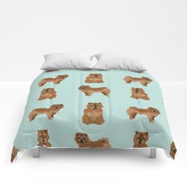Chow Chow dog breed pure breed pet gifts must have doggo pupper lovers Comforters