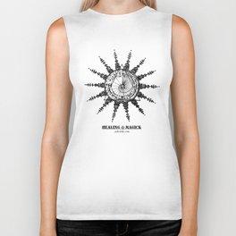 Healing Magick (sun) Biker Tank