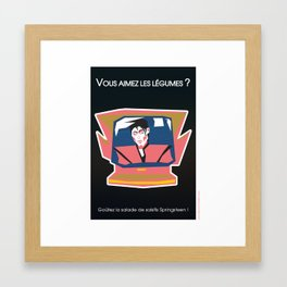 Réplicultes : Back to the future II Framed Art Print
