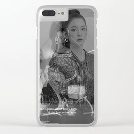 Itzy - Lia Clear iPhone Case