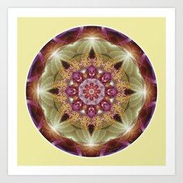 Mandalas from the Heart of Peace 1 Art Print