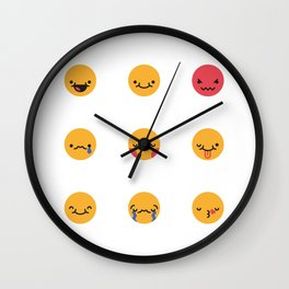 Emojis: All Wall Clock