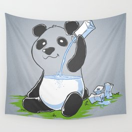 Panda in my FILLings Wall Tapestry