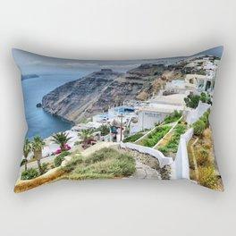 Santorini 3 Rectangular Pillow