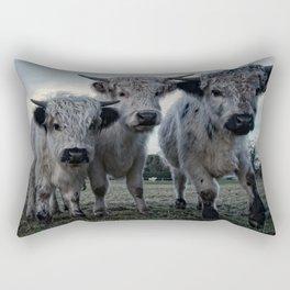 The Three Shaggy Cows Rectangular Pillow