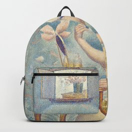Georges Seurat - Young Woman Powdering Herself Backpack