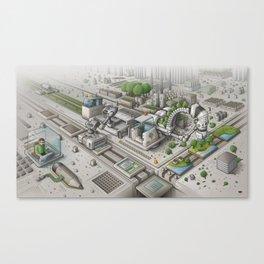 Mi Factory Canvas Print