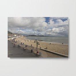 Lyme Regis, Dorset, England Metal Print