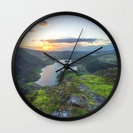 Gougane Barra,Ireland Wall Clock
