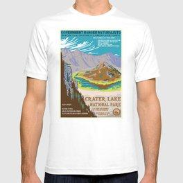 National Parks 2050: Crater Lake T-shirt