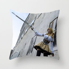 I have my sights set high Throw Pillow