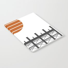 City in construction Notebook