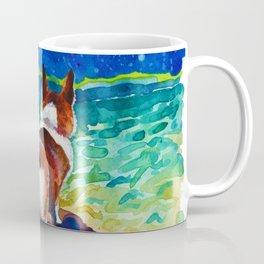 Corgi - sea admirer Coffee Mug