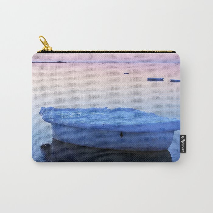 Ice Raft at Dusk on Calm Seas Carry-All Pouch