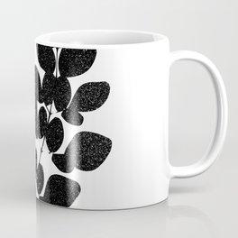 Moringa Leaf Silhouette Art Print Coffee Mug