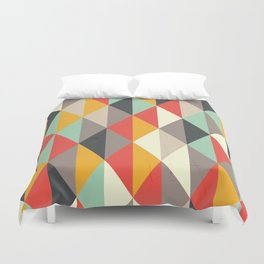 AUTUMN PUMPKIN RHOMB PATTERN Duvet Cover