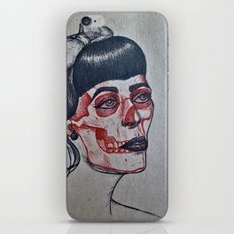 Rockabilly x-ray iPhone Skin