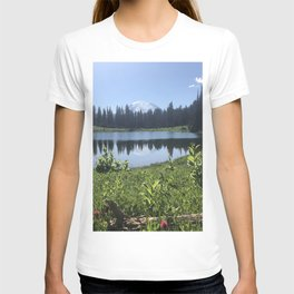 Mount Rainier from Tipsoo Lake T-shirt