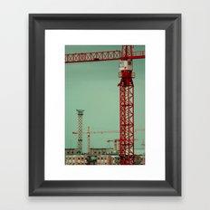 Bucharest take 1 Framed Art Print