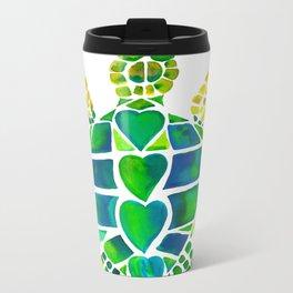 Turtle Love Metal Travel Mug