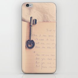 Key to Your Heart iPhone Skin