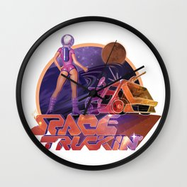 Space Truckin' Wall Clock