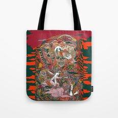 WIND THE SWAN Tote Bag