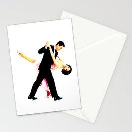 mary tyler moore dancing Stationery Cards